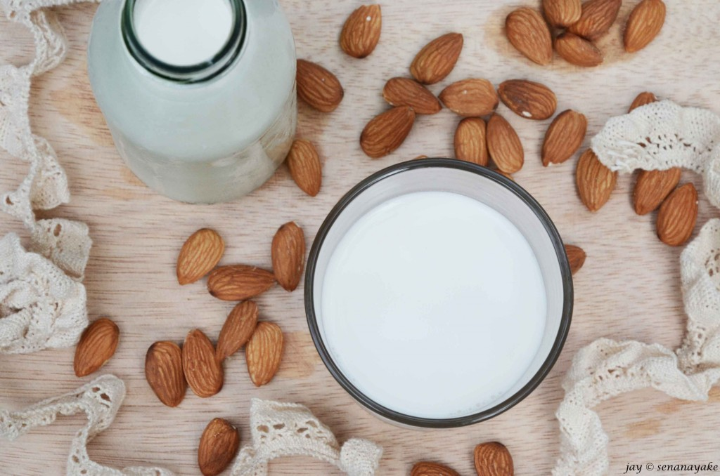 Almond-milk-glass-and-bottle