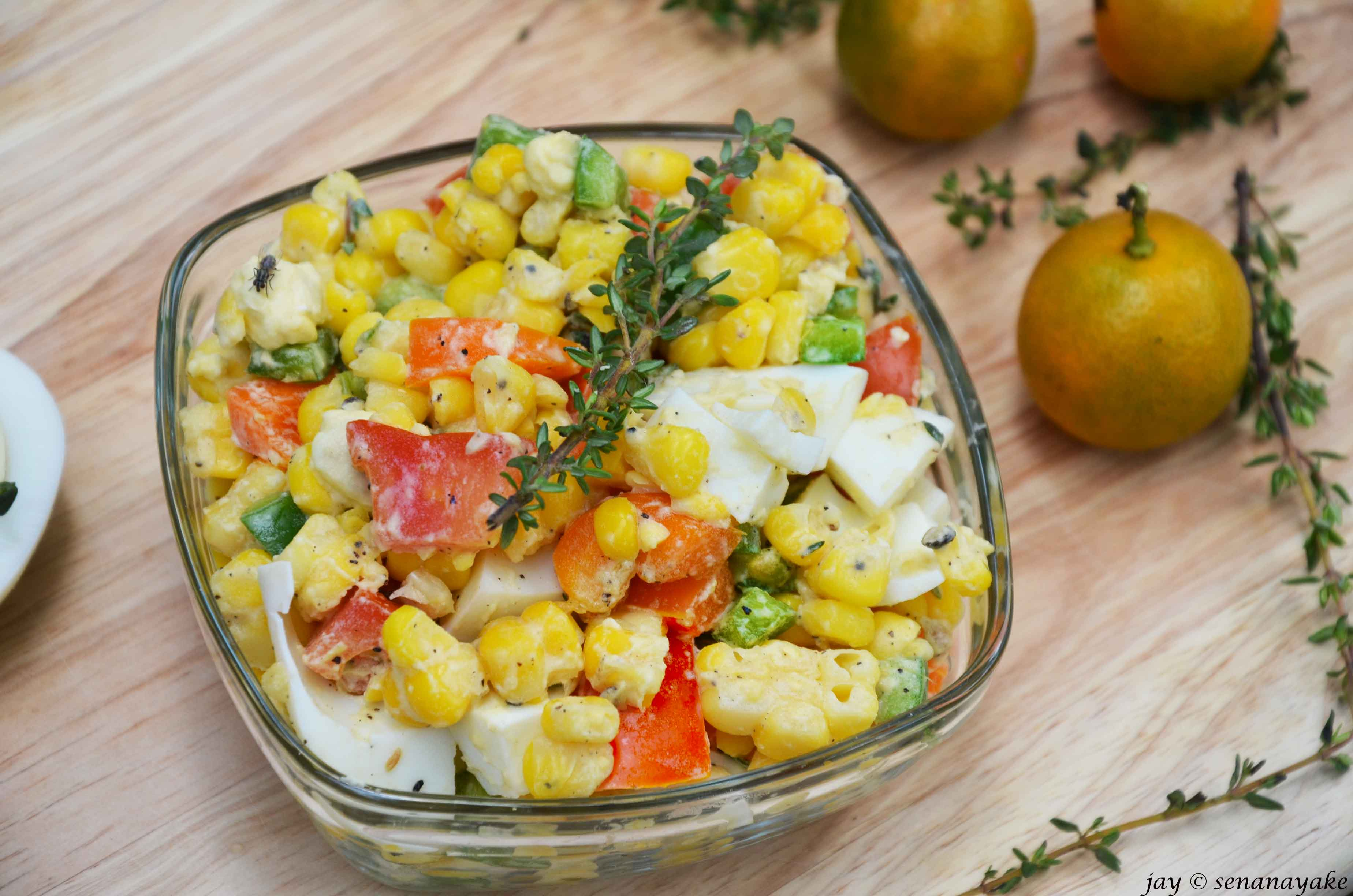 A Bowl Of Sunshine Amp Happy Riot Sweet Corn Salad