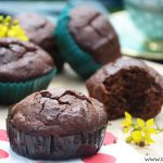 Gooey Chocolate muffins