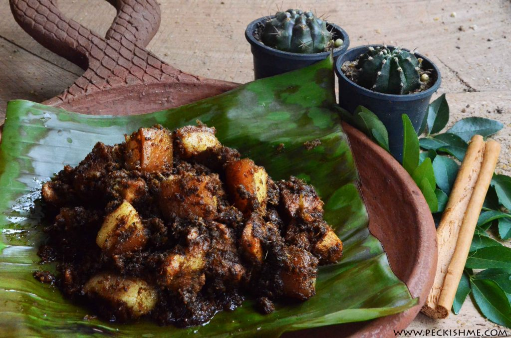 Sri Lankan Pork Black Curry