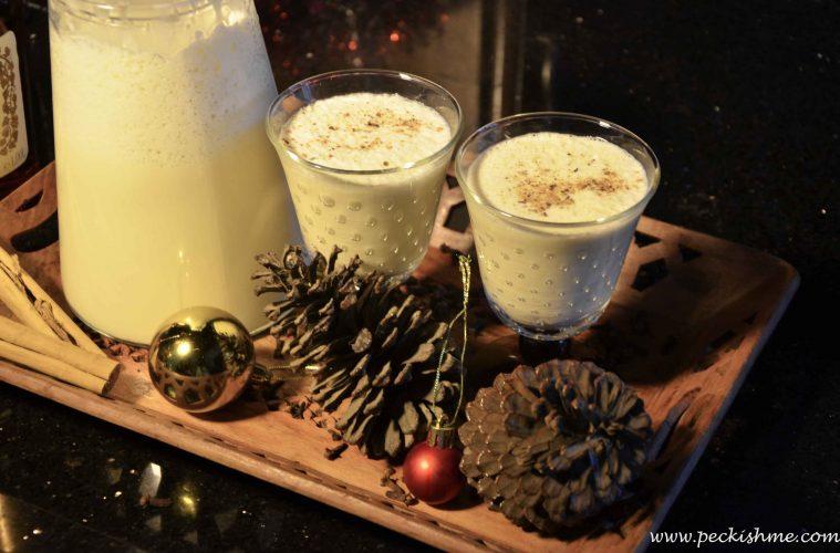 Let's hog the eggnog! A Christmas recipe | Peckish Me