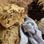 Homebaked herb bread