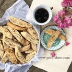 Almond Biscotti with chia seeds